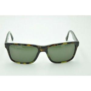 Prada SPR 19S Sunglasses LAB-4J1 Green Tortoise